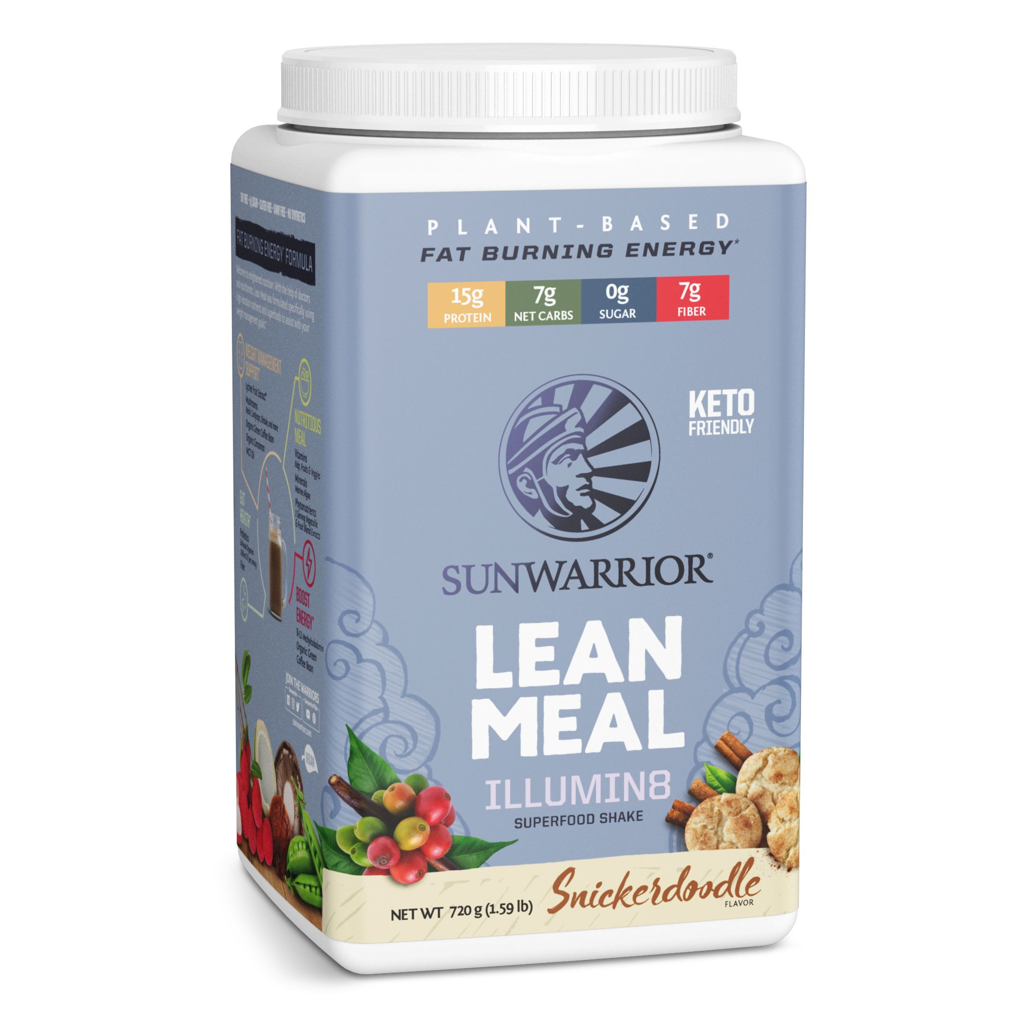 Lean Meal Snickerdoodle 720g