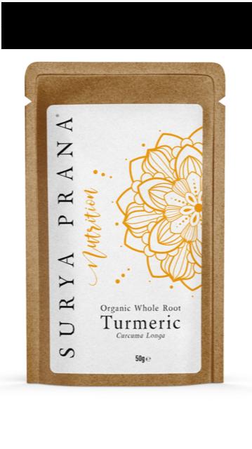 Organic Whole Root Turmeric 50g