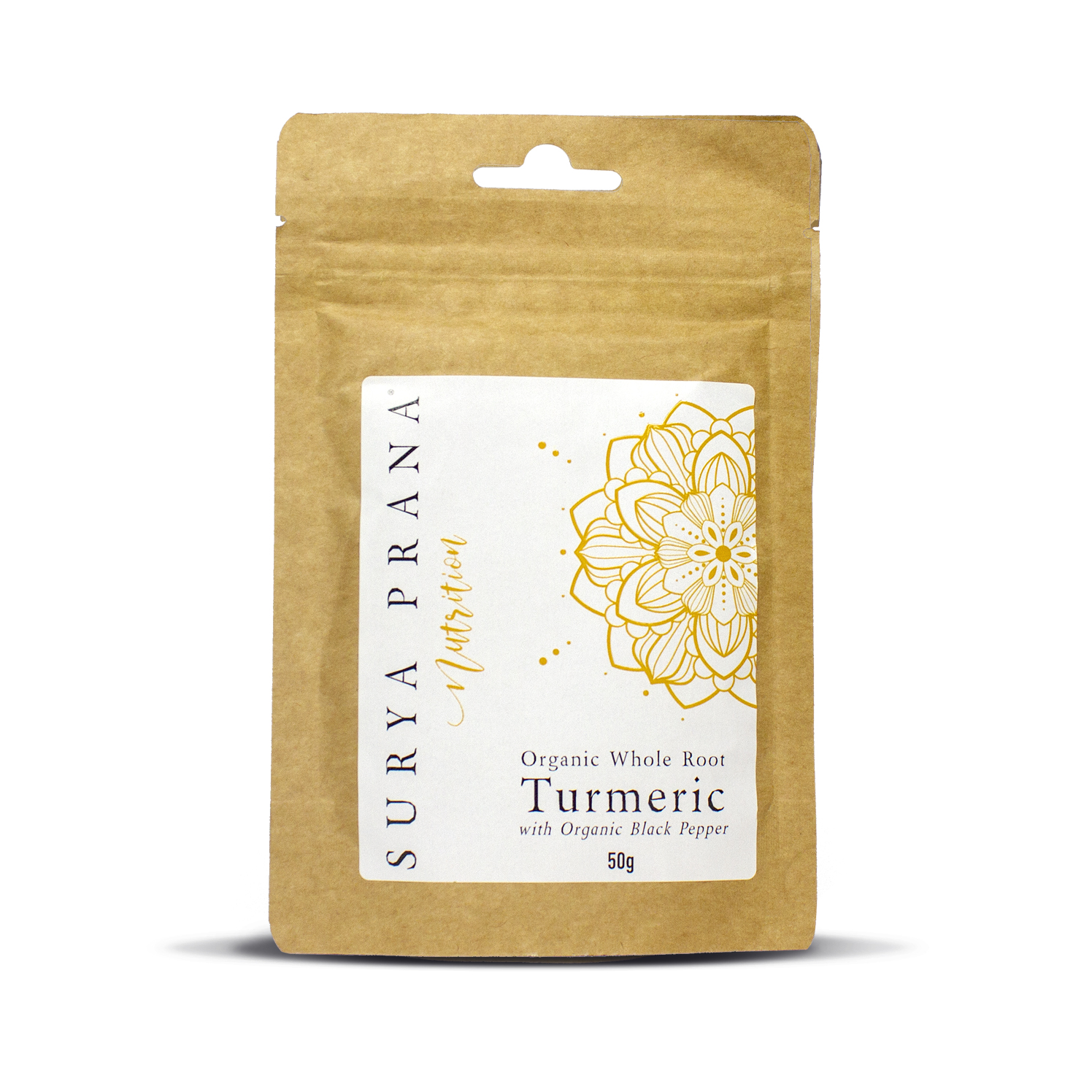 Organic Turmeric with Black Pepper 50g (Currently Unavailable)
