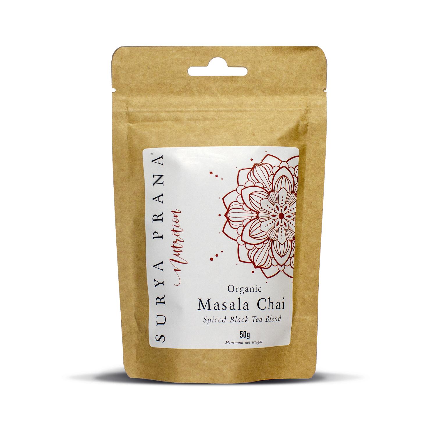Organic Masala Chai Tea 50g