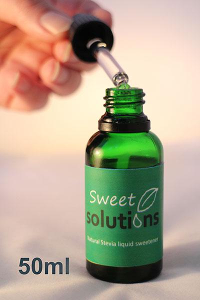 Natural Stevia Liquid Sweetener 50ml