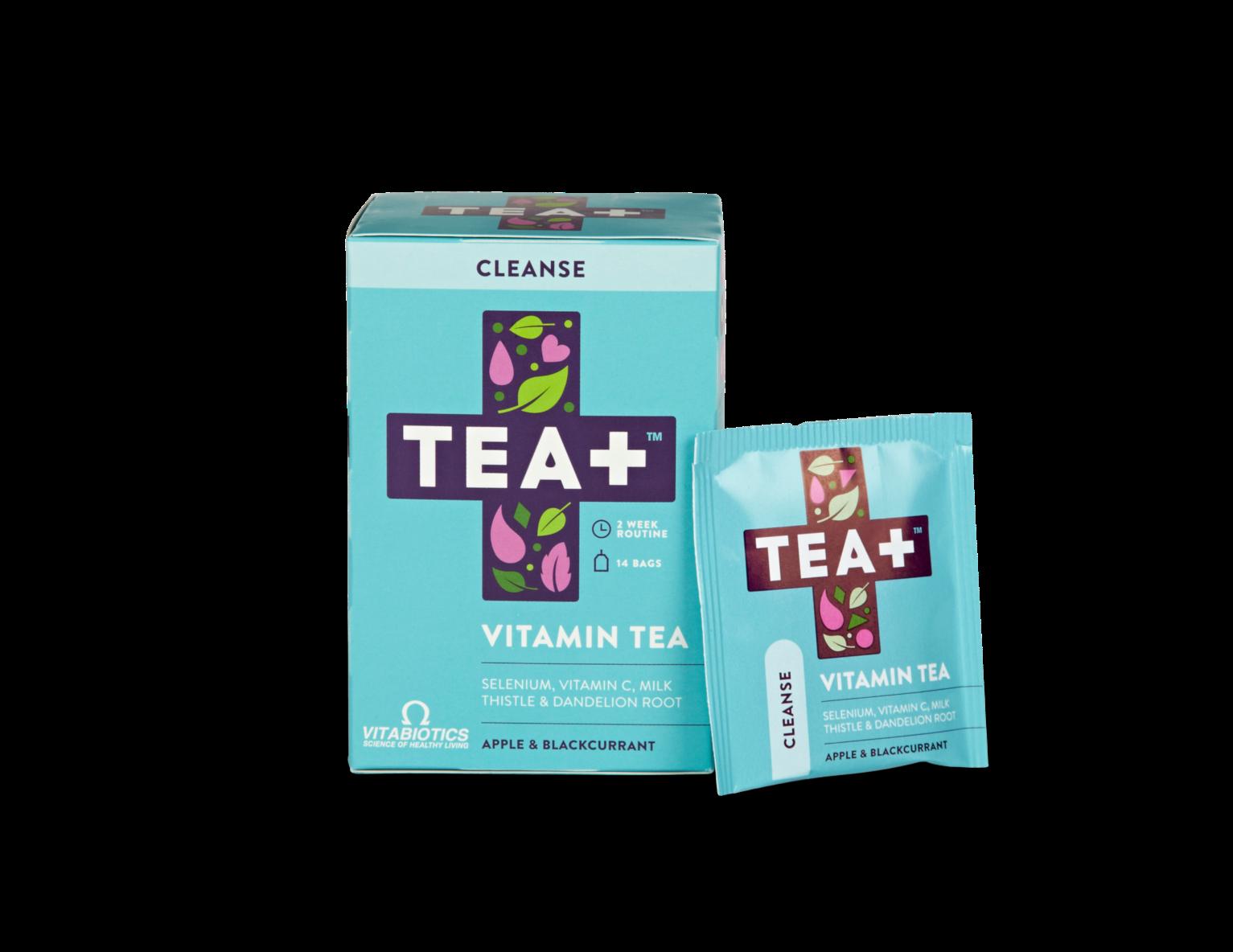 Tea+ Vitamin Tea Cleanse Apple & Blackcurrant
