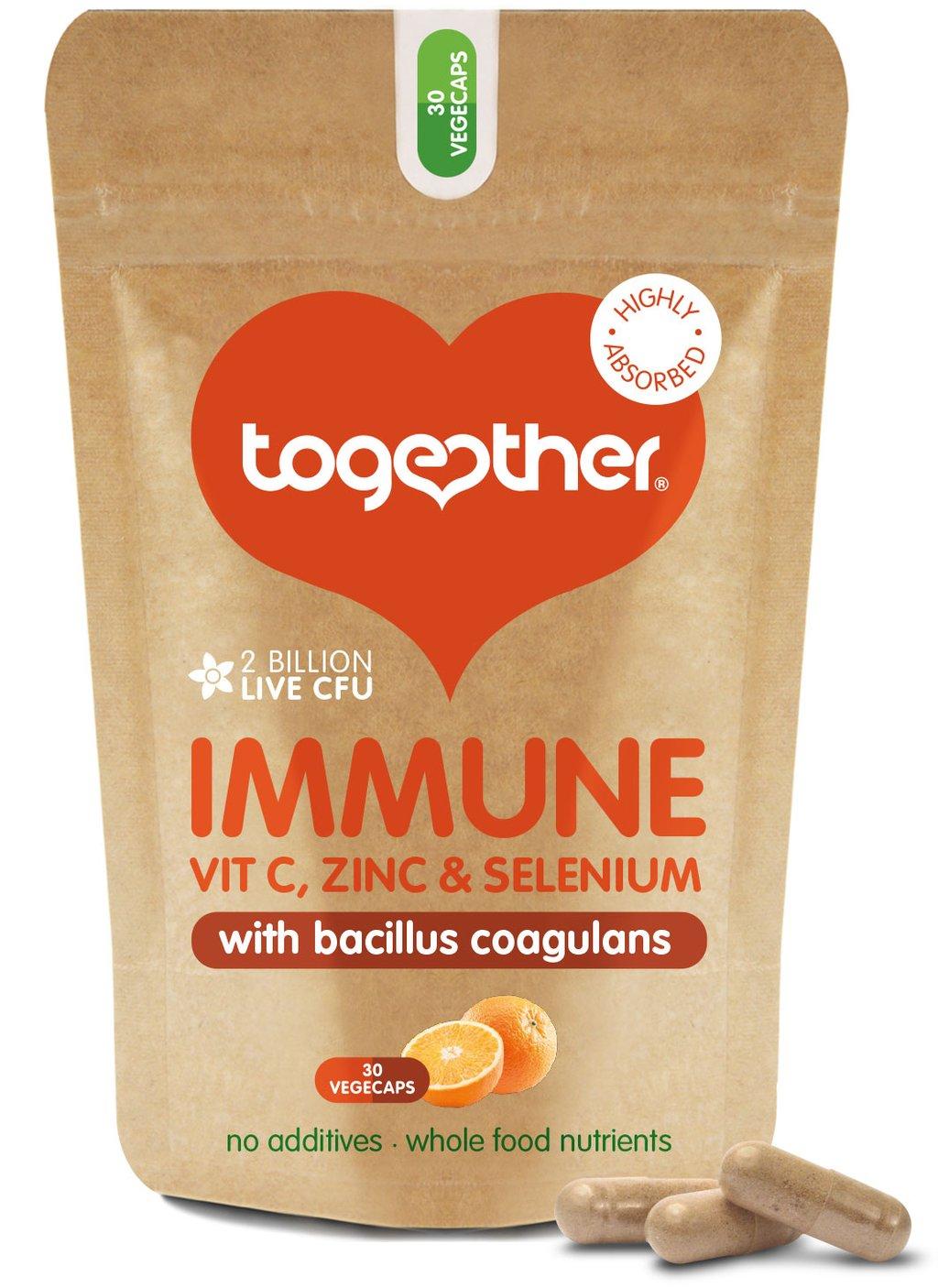 Immune with Vit C, Zinc, & Selenium 30's
