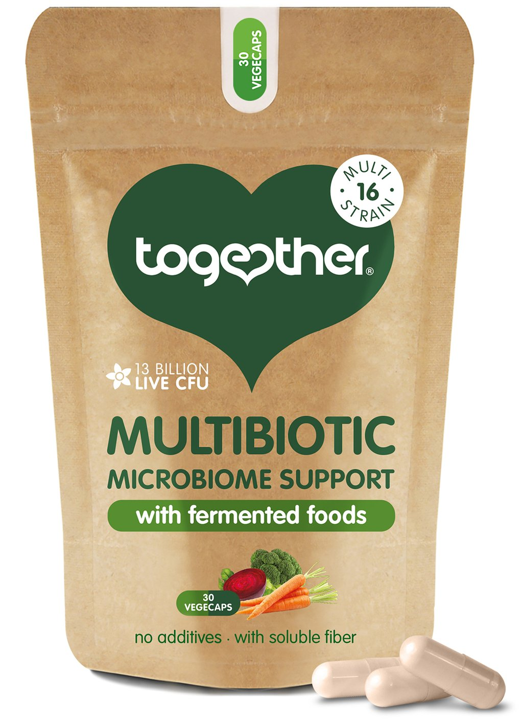 Multibiotic Microbiome Support 30's (Currently Unavailable)