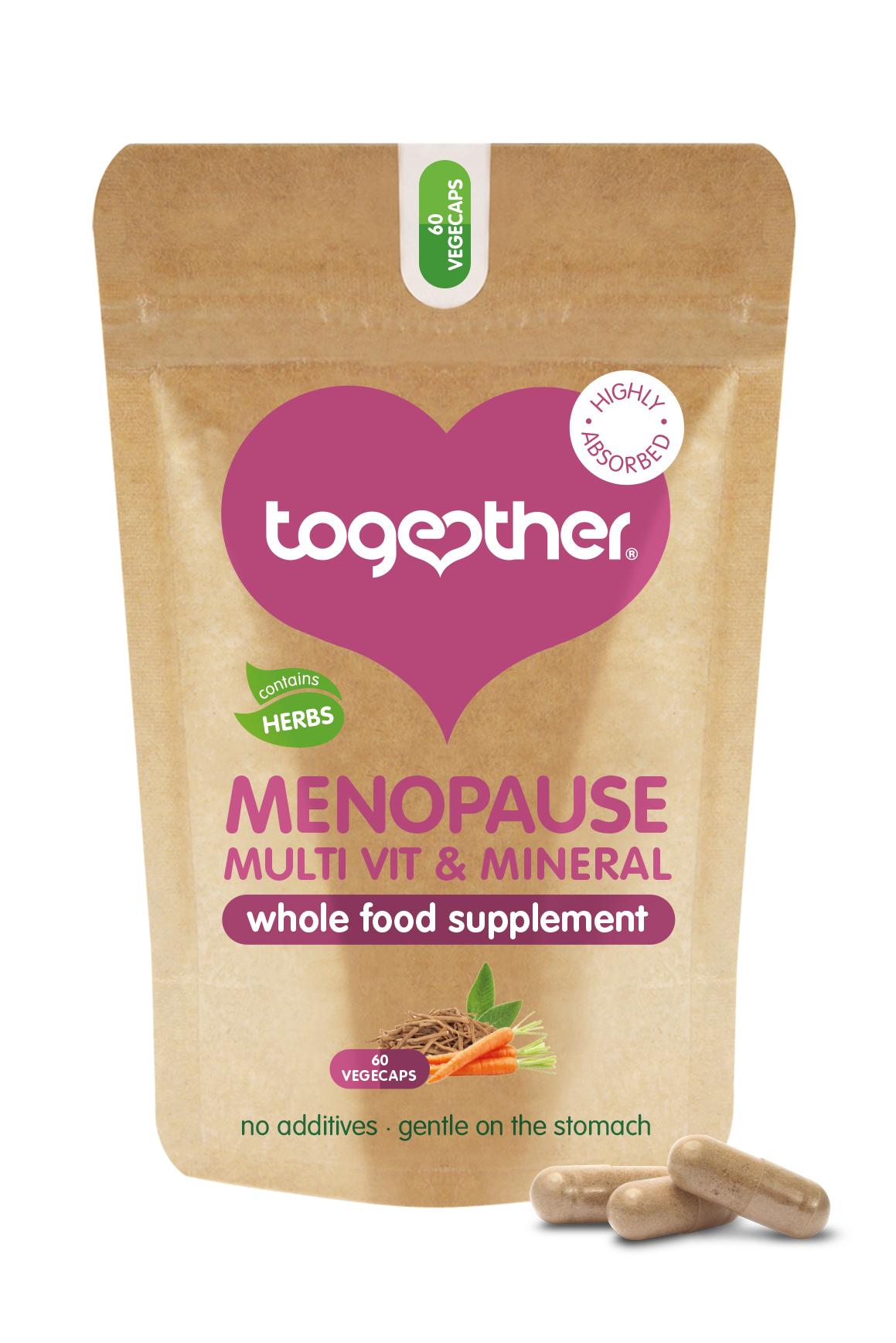 Menopause Multi Vit & Mineral 60's