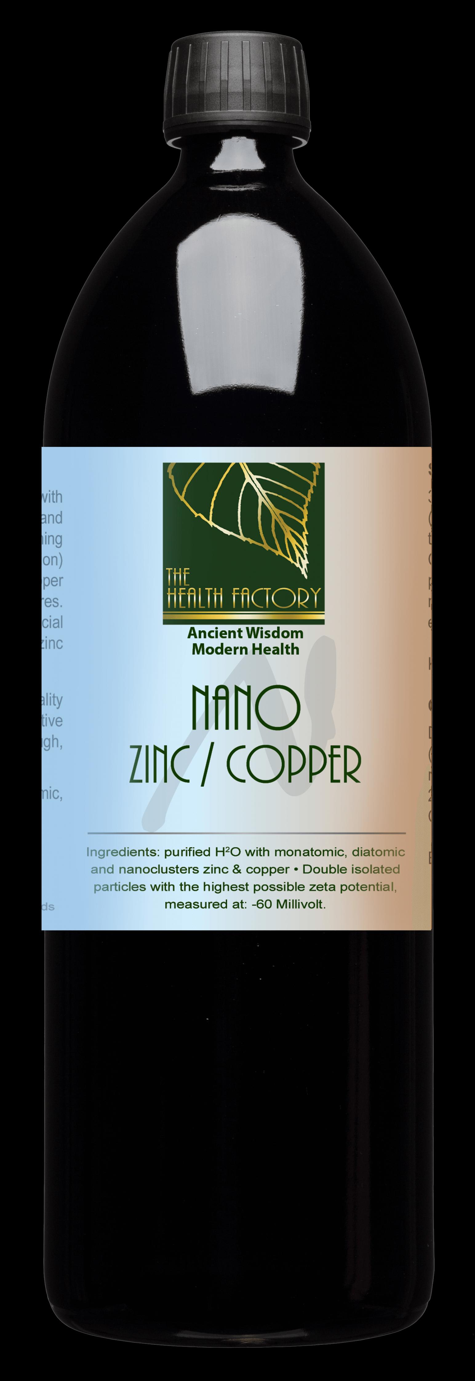 Nano Zinc / Copper 1 litre