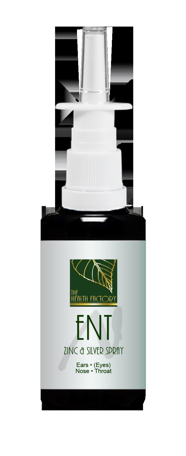 ENT Zinc & Silver Spray 15ml