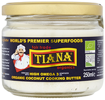 Omega 3 Coconut Cooking Butter 250ml