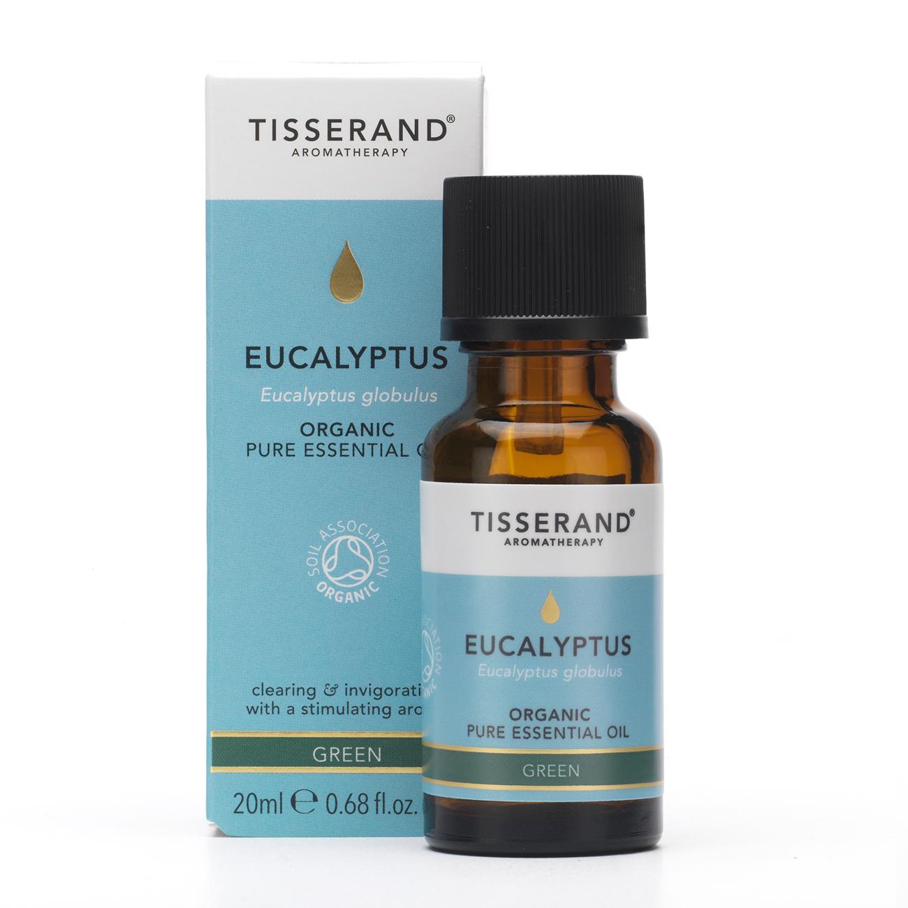 Eucalyptus Organic Pure Essential Oil 20ml
