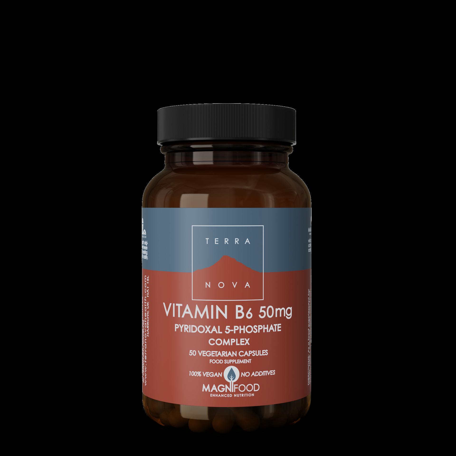 Vitamin B6 50mg 50's