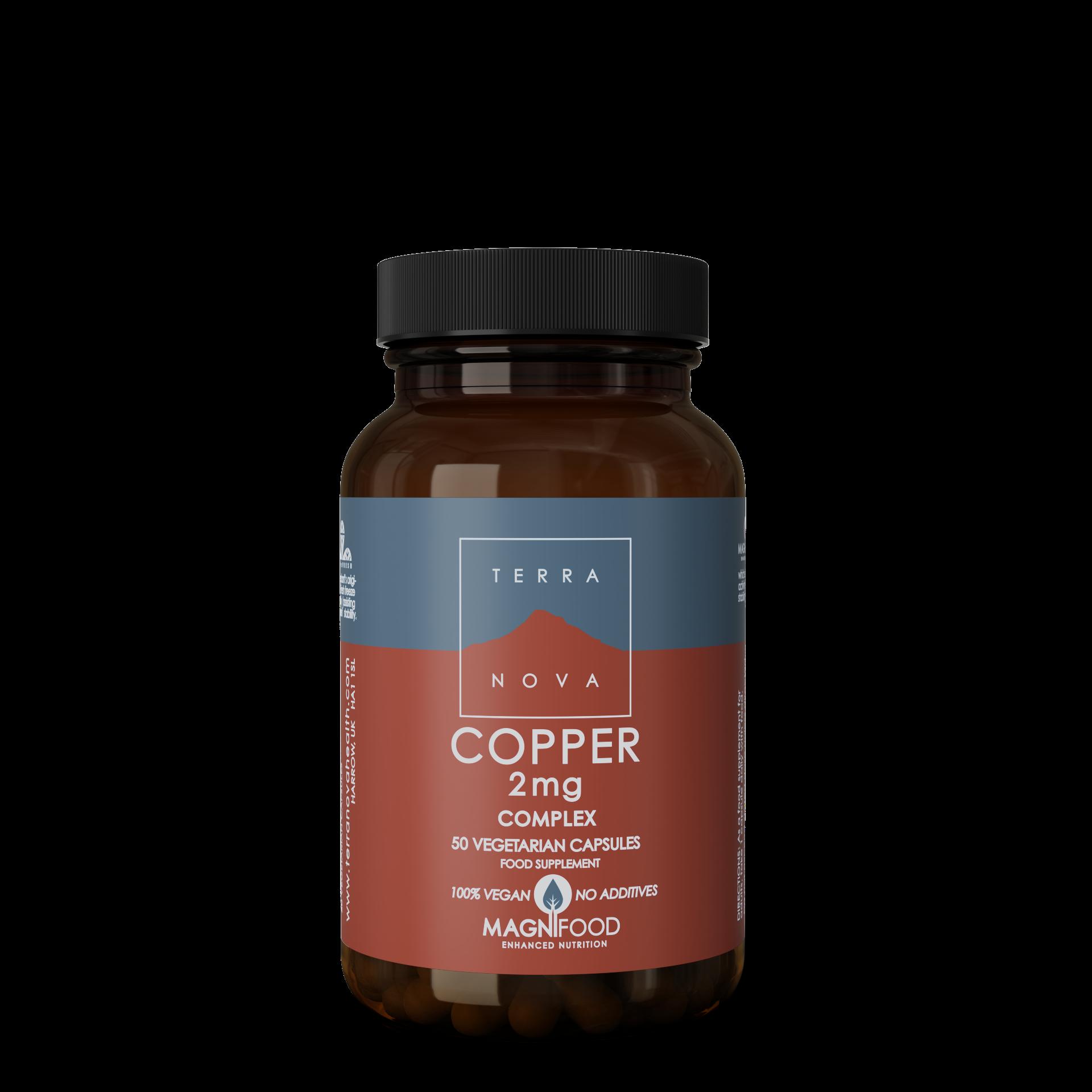 Copper 2mg Complex 50's