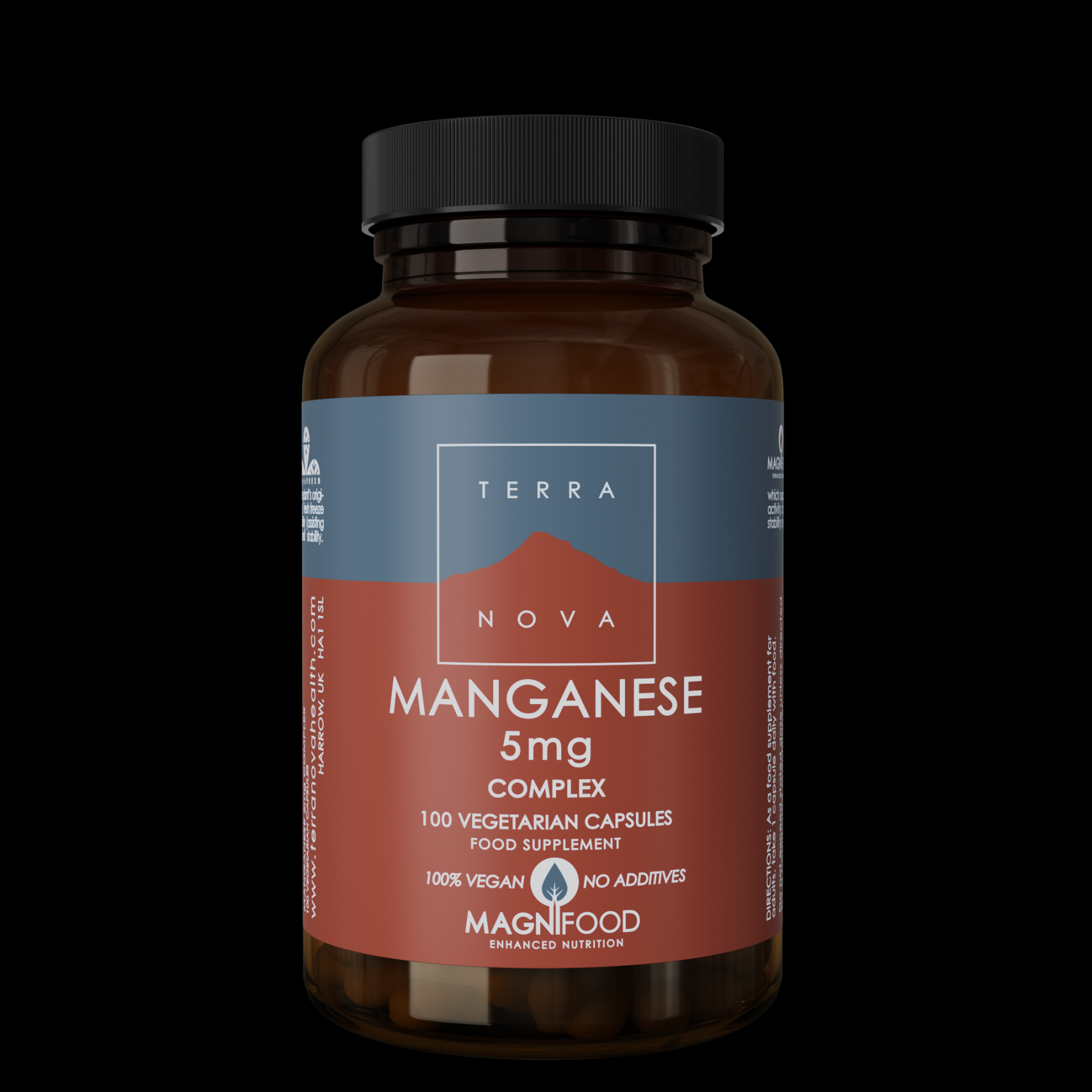 Manganese 5mg Complex 100's