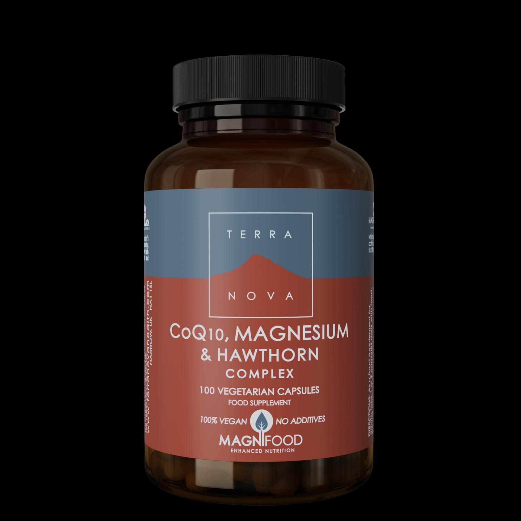 CoQ10, Magnesium & Hawthorn Complex 100's