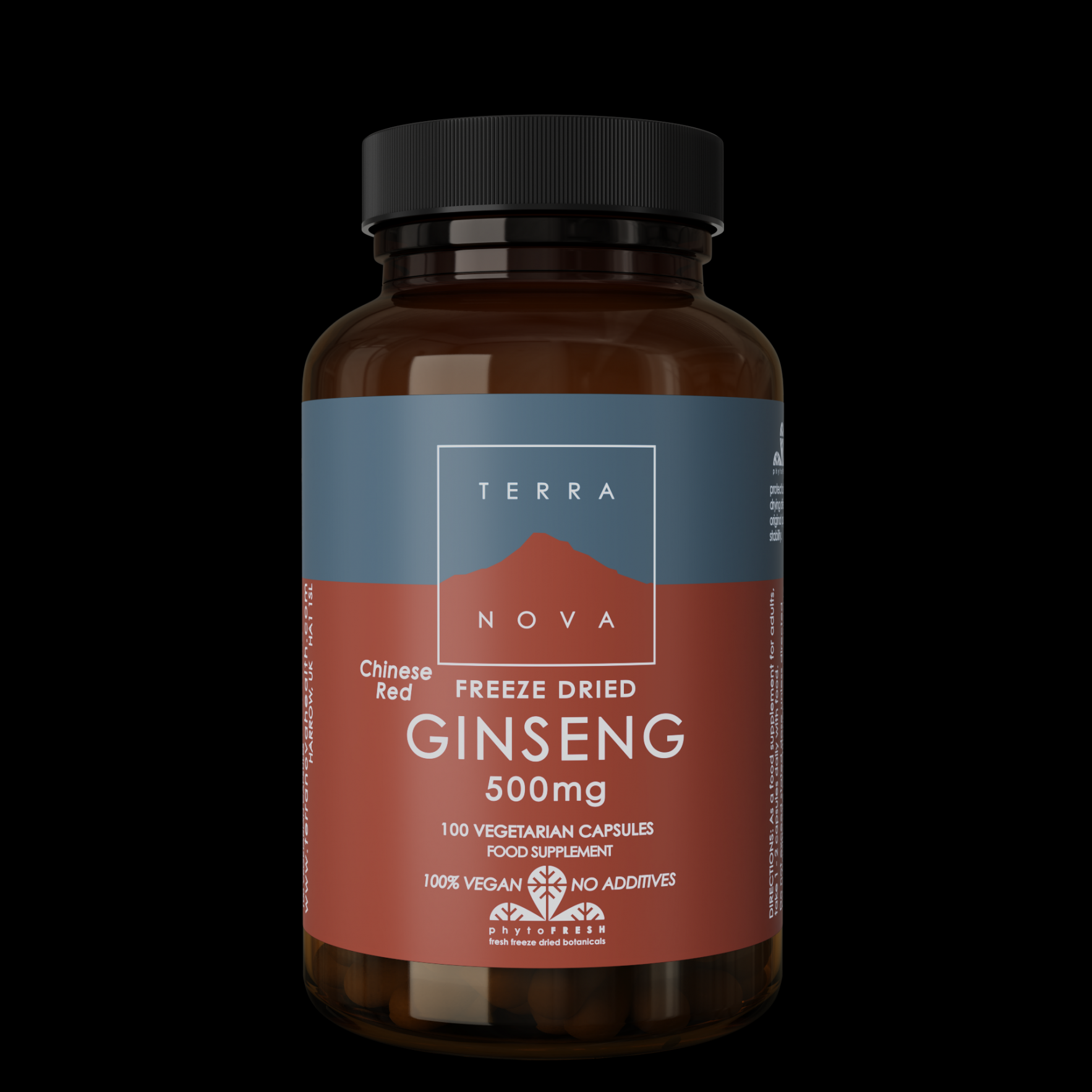 Ginseng Chinese Red 500Mg 100's