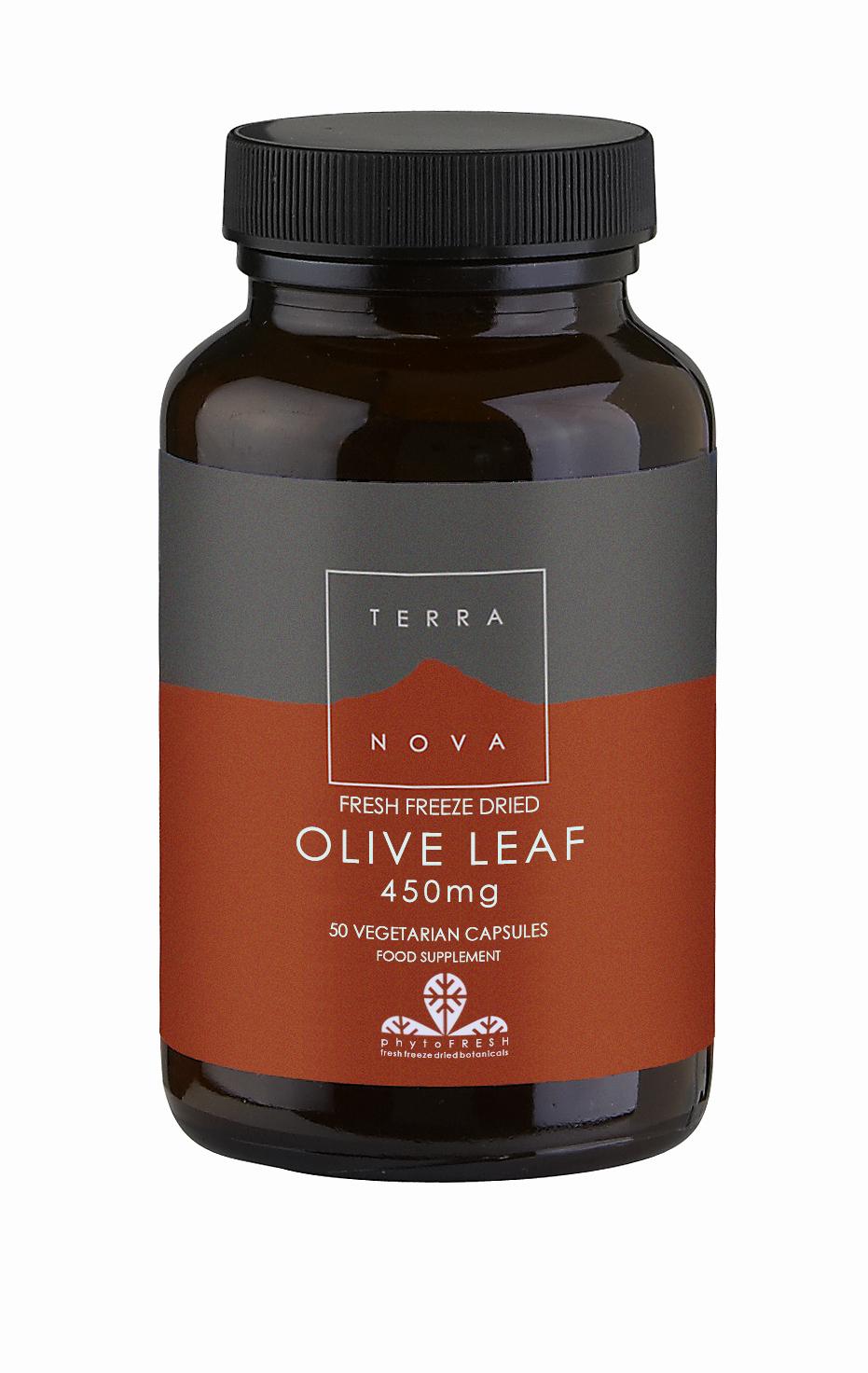 Olive Leaf 450mg 50's