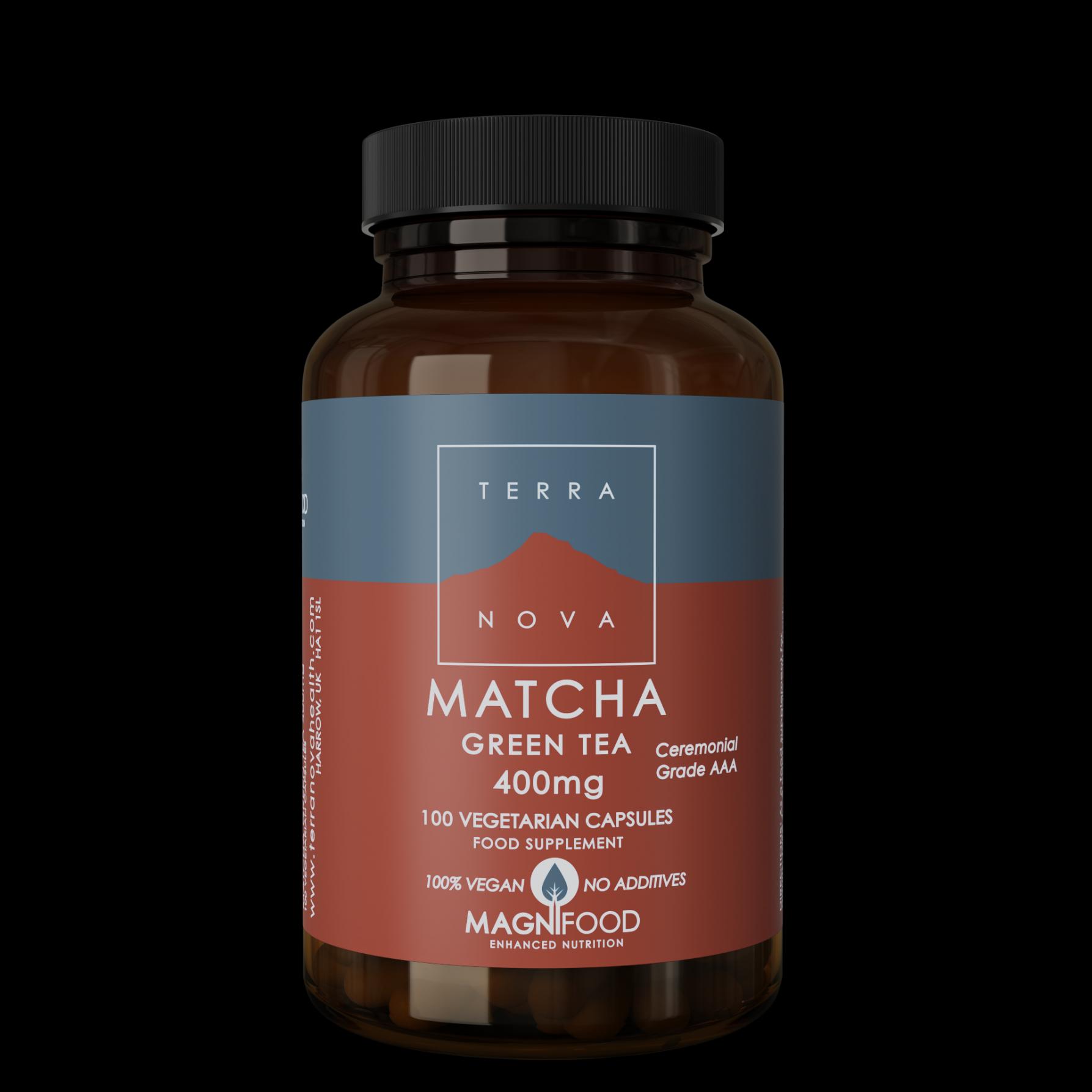 Matcha Green Tea 400Mg 100's