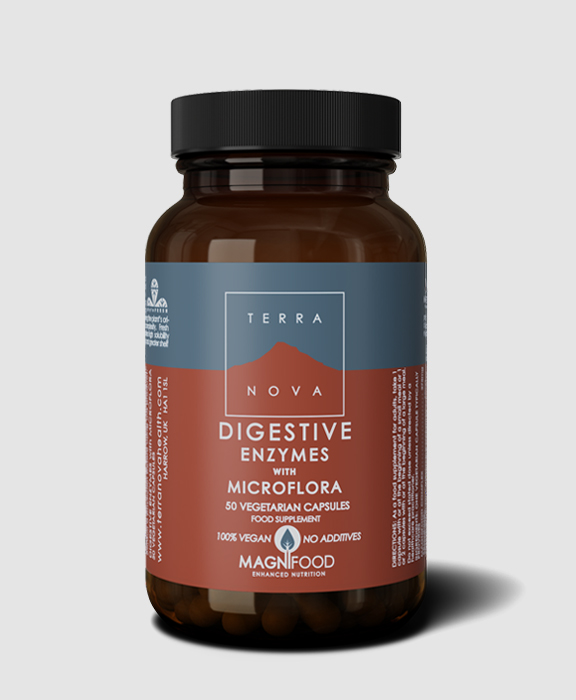 Digestive Enzymes with Microflora 50's