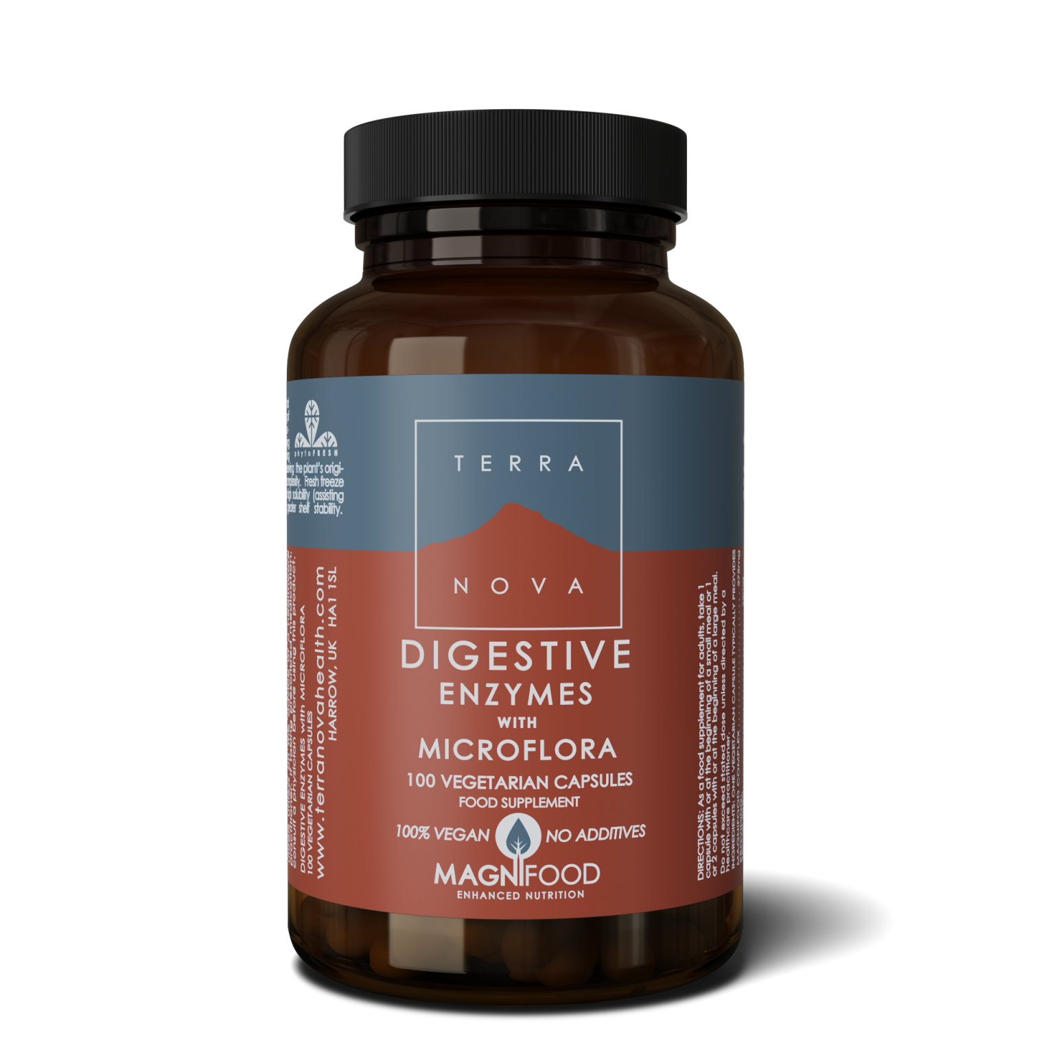 Digestive Enzymes with Microflora 100's
