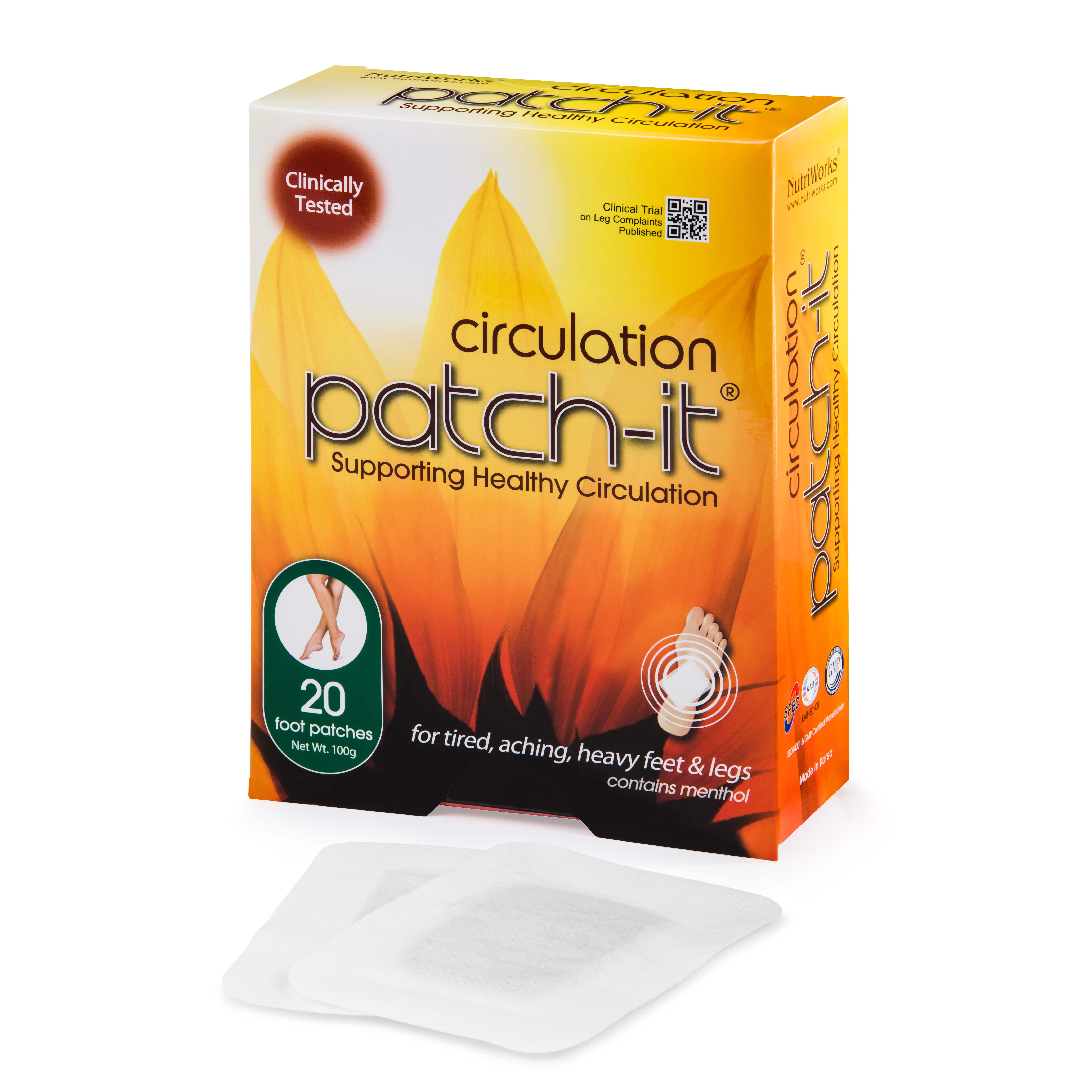 Circulation Patch-it- 20 Patches