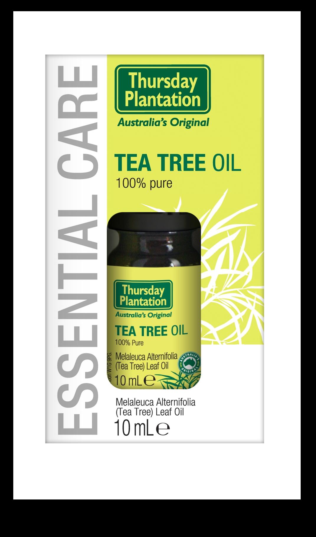 Tea Tree Oil 100% Pure 10ml