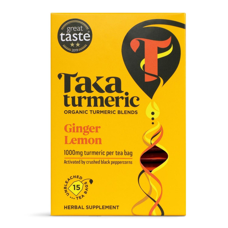 Ginger & Lemon Teabags 15's