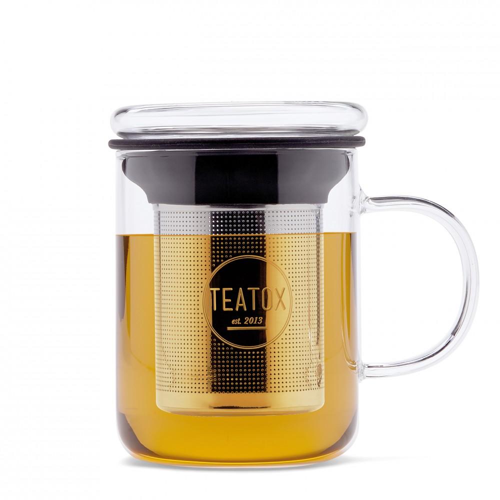 Glass Tea Mug 350ml