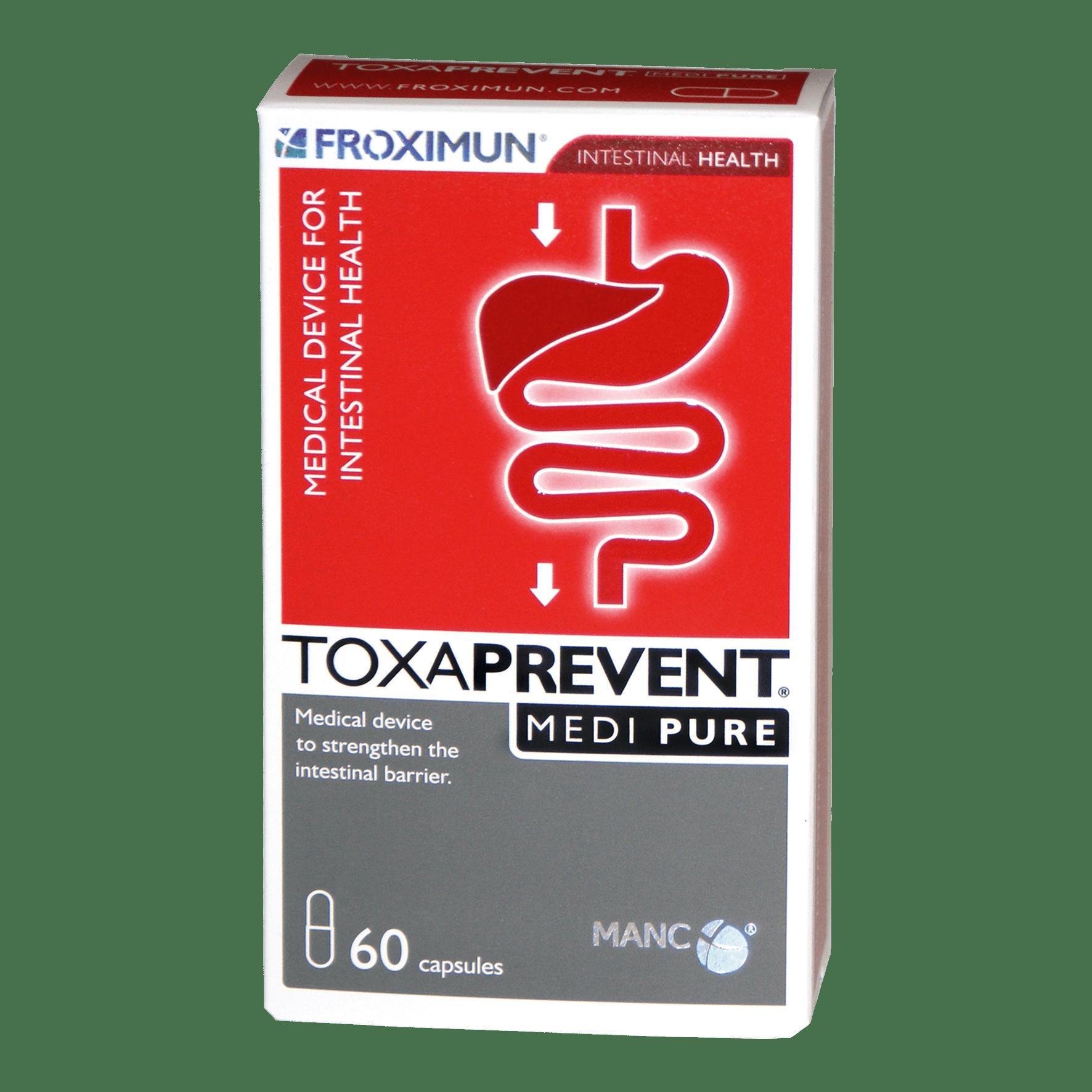 Toxaprevent Medi Pure Capsules 60's