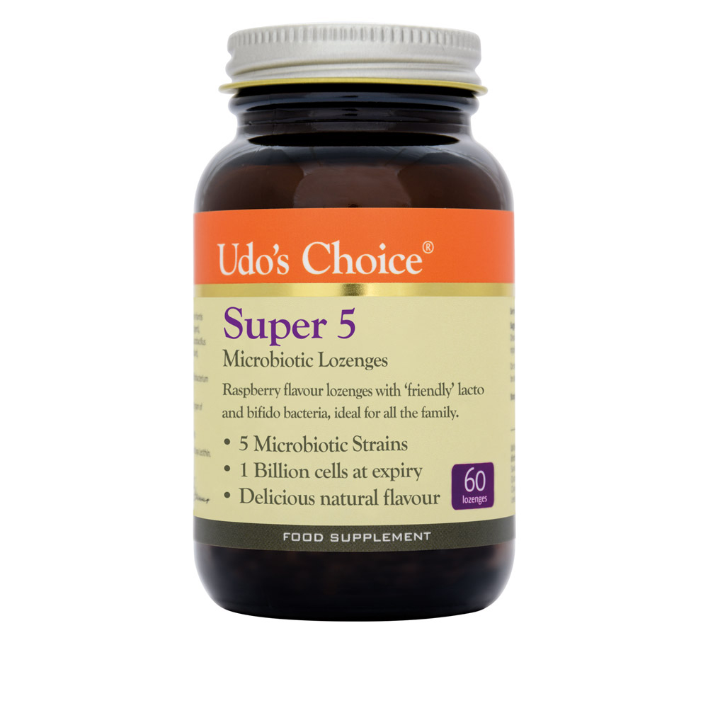 Super 5 Microbiotic Lozenges 60's