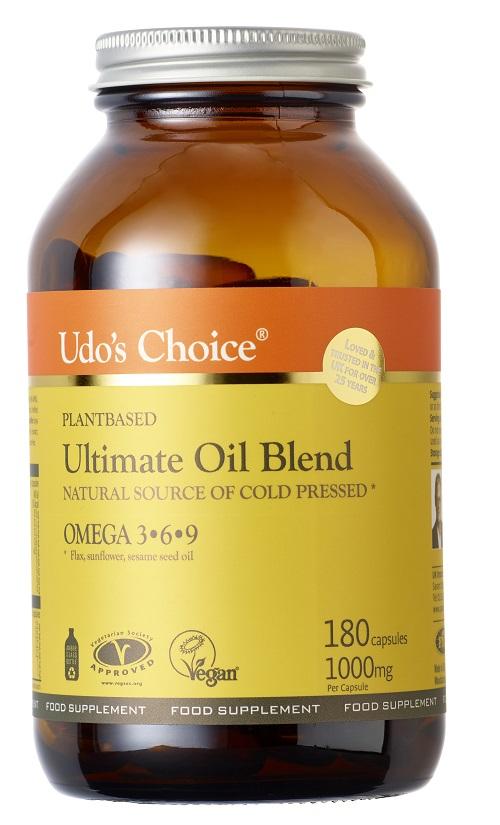 Ultimate Oil Blend Omega 3.6.9 1000mg 180's