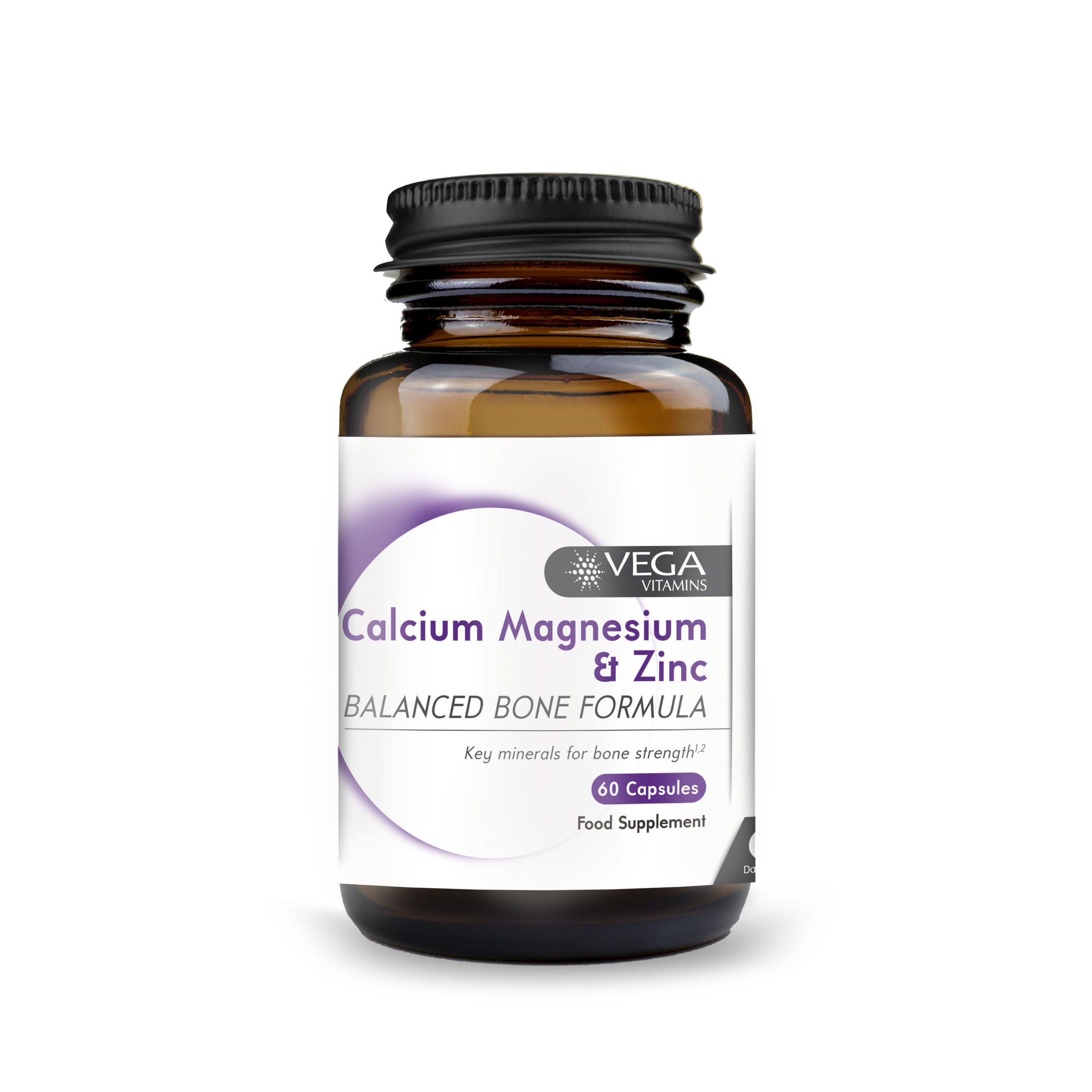 Calcium, Magnesium & Zinc 60's
