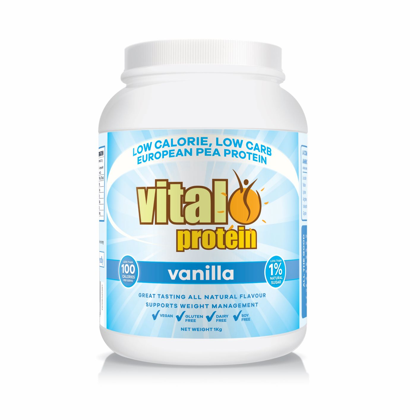 Vital Protein (Pea Protein) Vanilla 1kg (Currently Unavailable)