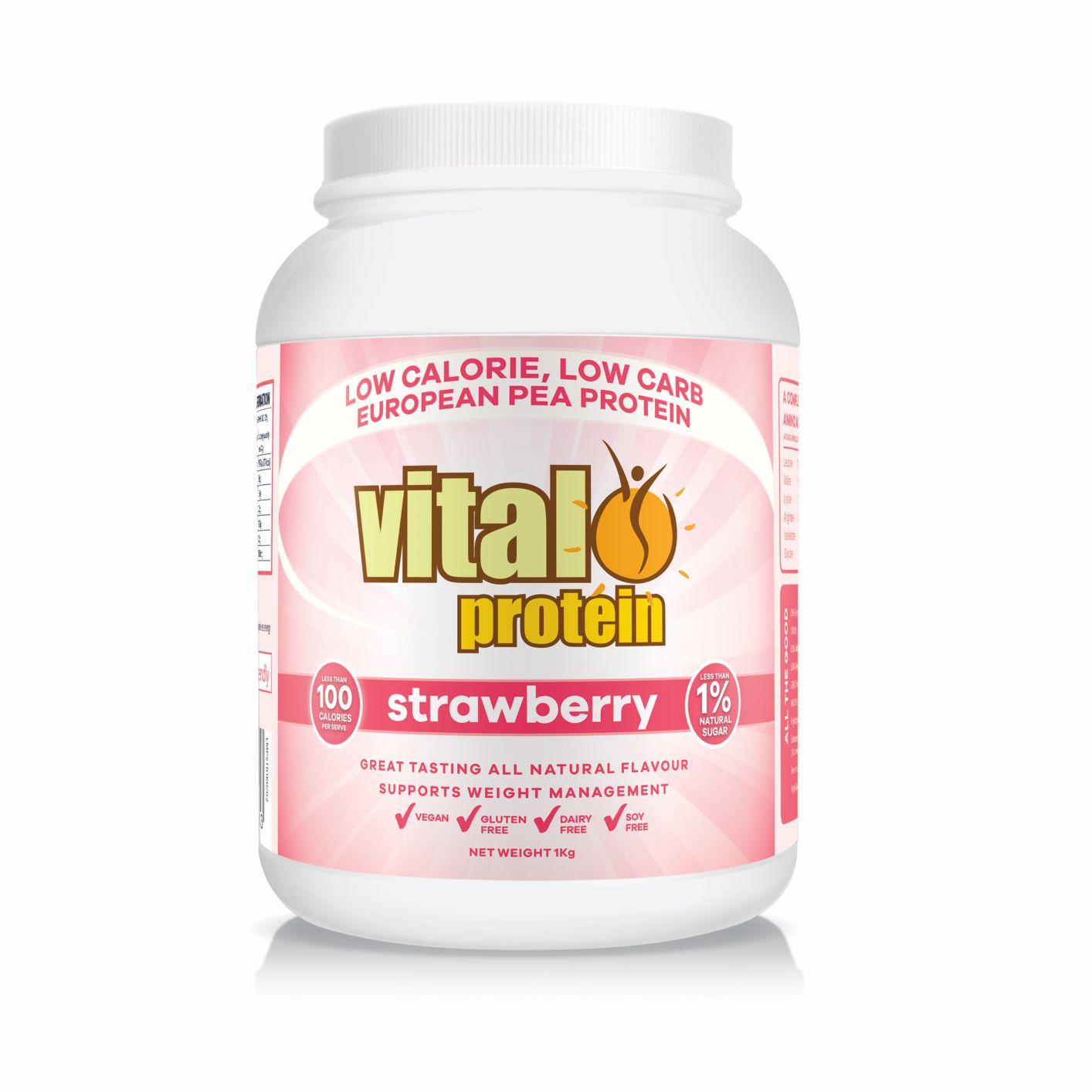 Vital Protein (Pea Protein) Strawberry 1kg