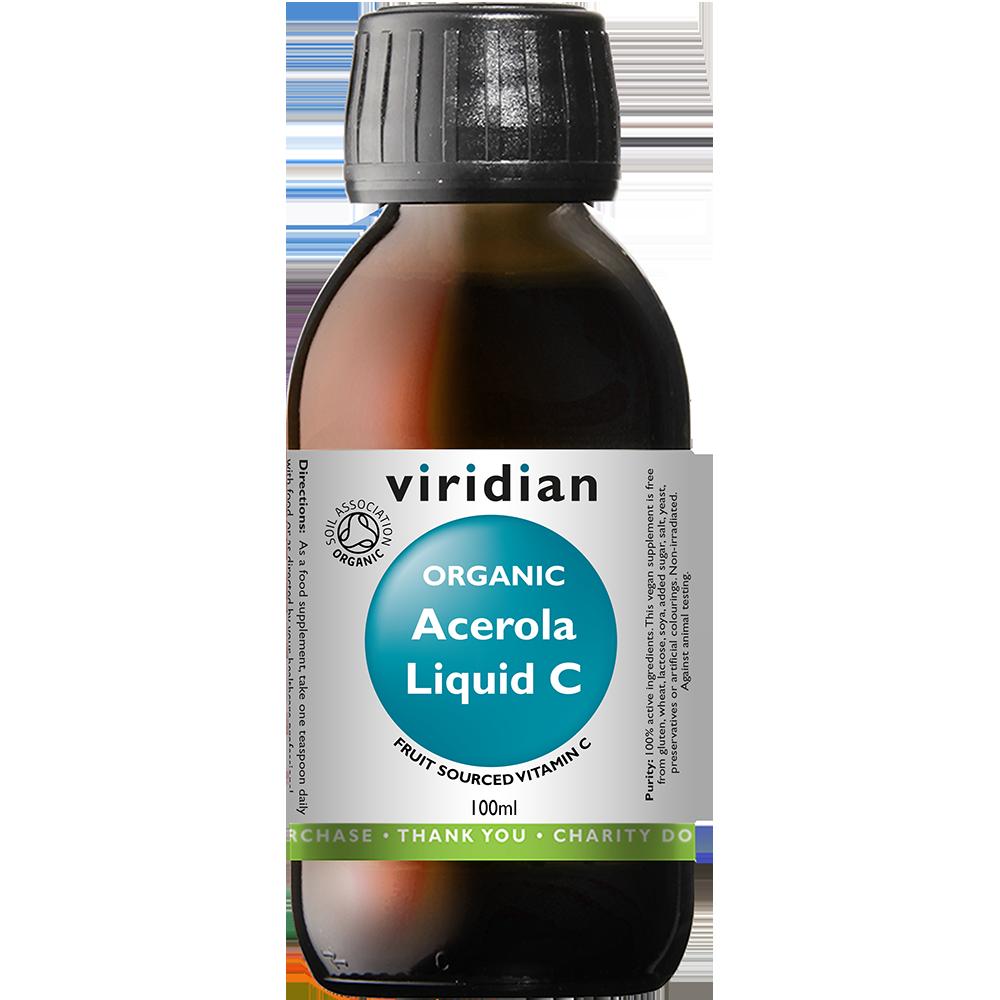 Organic Acerola Liquid C 100ml