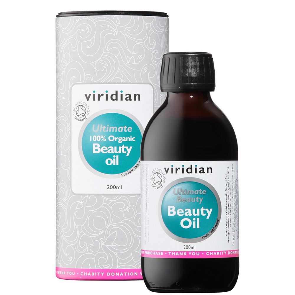 Ultimate 100% Organic Beauty Oil 200ml