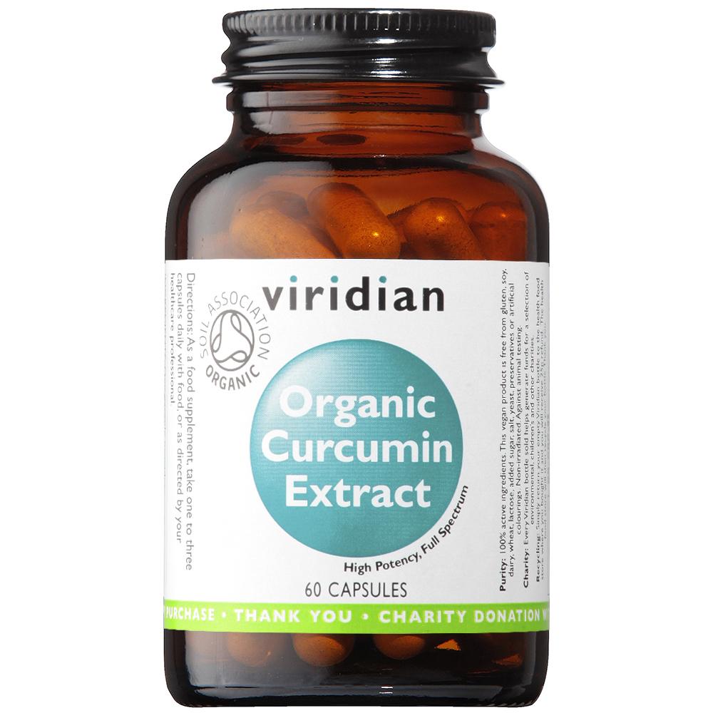 Organic Curcumin Extract 60's
