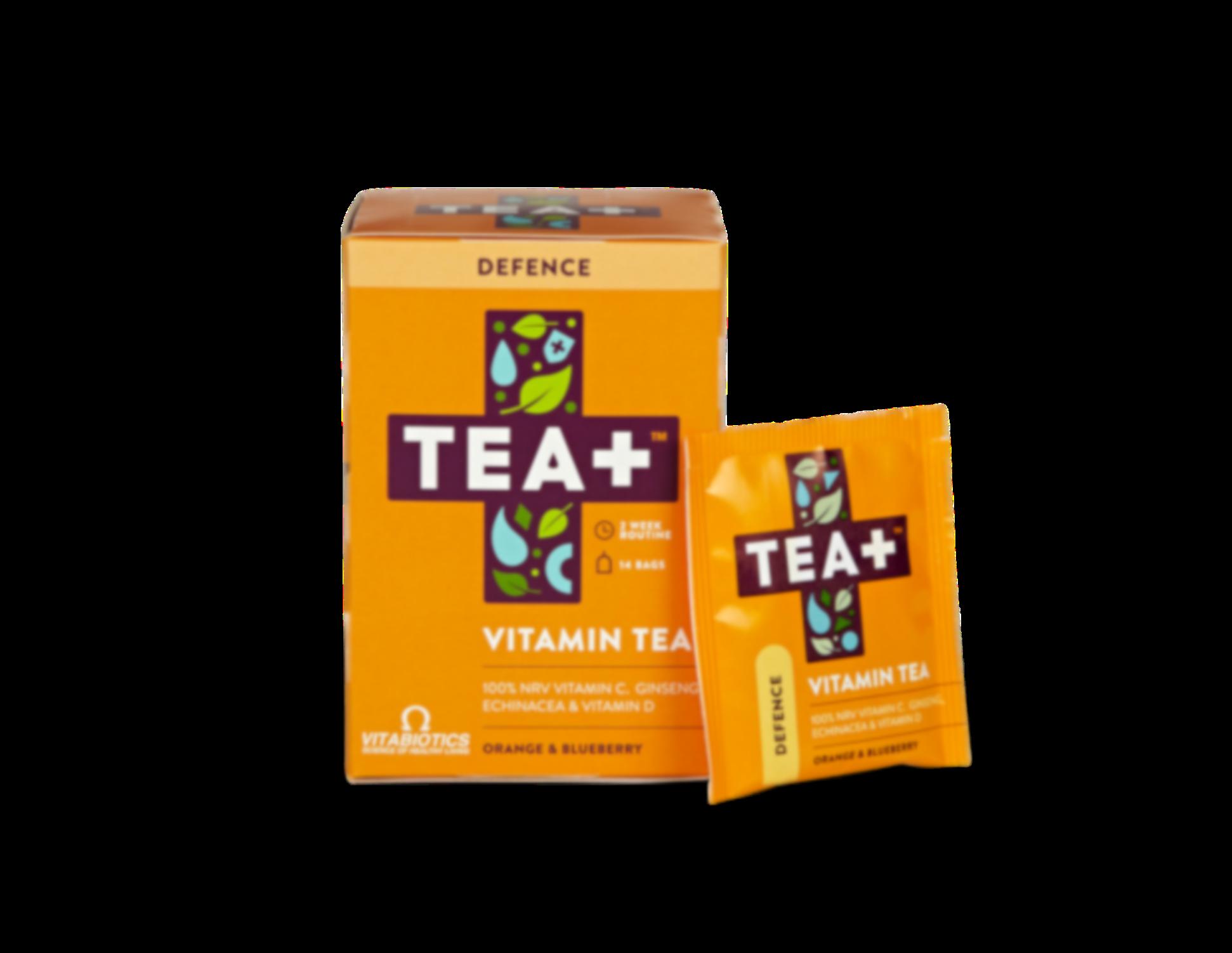 Tea+ Vitamin Tea Defence Orange & Blueberry