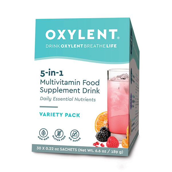 5-in-1 Multivitamin Food Supplement Drink Variety 30's (Currently Unavailable)