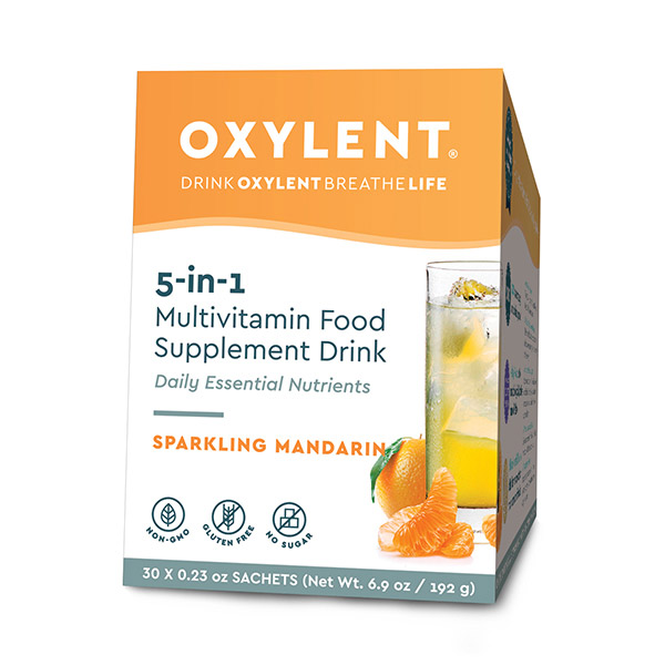 5-in-1 Multivitamin Food Supplement Drink Sparkling Mandarin 30's (Currently Unavailable)