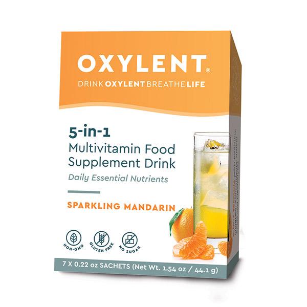5-in-1 Multivitamin Food Supplement Drink Sparkling Mandarin 7's