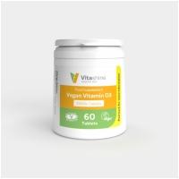 Vegan Vitamin D3 2500iu 60's