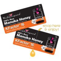 Raw Monofloral Manuka Honey K Factor 16 On The Go 24's