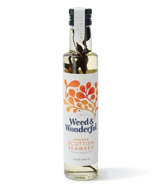 Smoked Scottish Seaweed Infused Rapeseed Oil 250ml