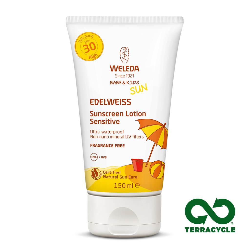 Edelweiss Sunscreen Lotion SPF 30 Sensitive 150ml (Currently Unavailable)