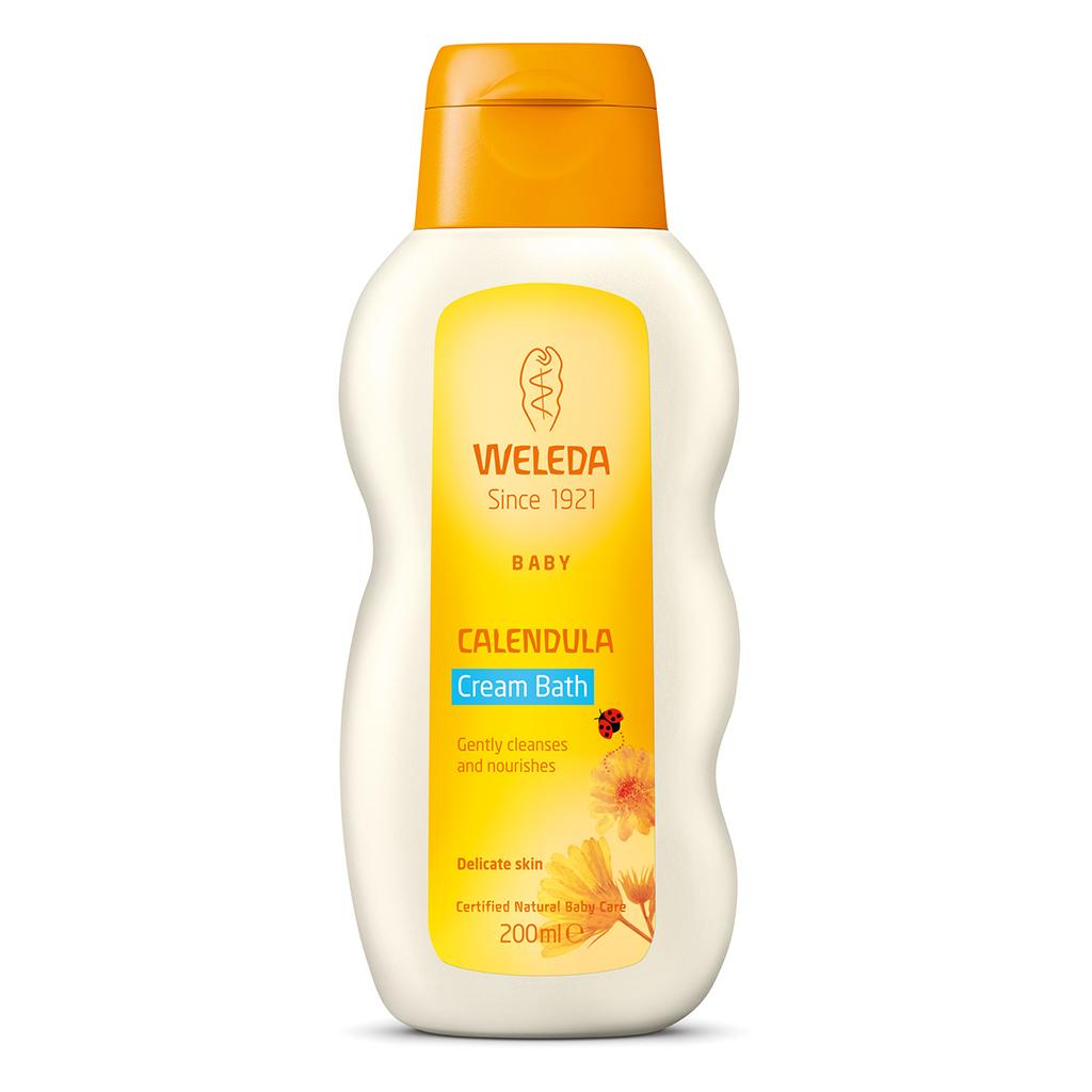 Calendula Cream Bath (Baby) 200ml