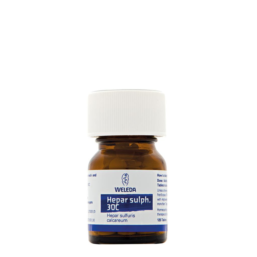 Hepar sulph. 30C 125's