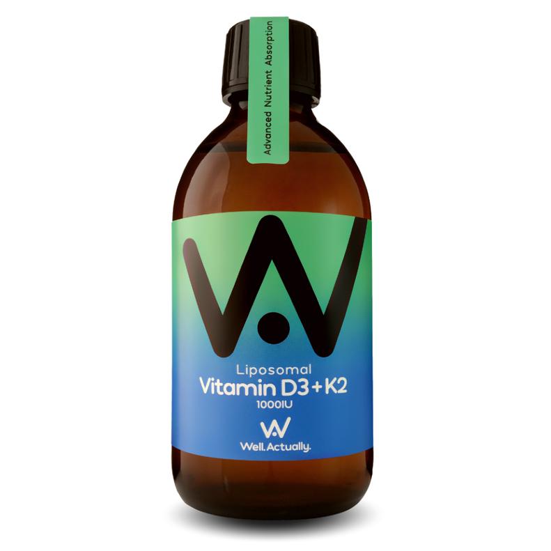 Liposomal Vitamin D3 1000IU + K2 50mcg 300ml