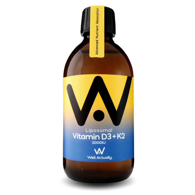 Liposomal Vitamin D3 2000IU + K2 100mcg 300ml