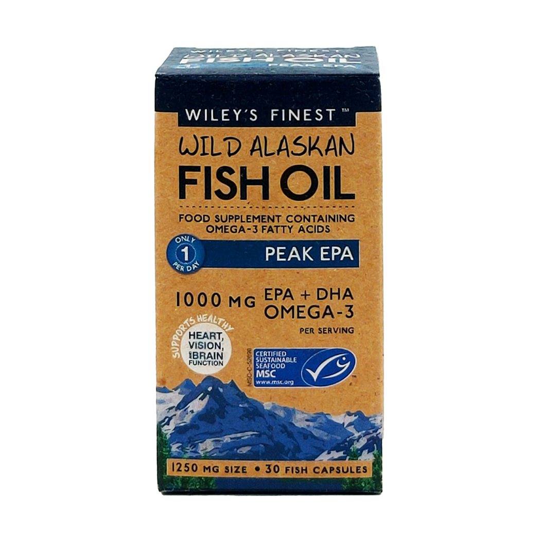 Wild Alaskan Fish Oil Peak EPA 1000mg 30's