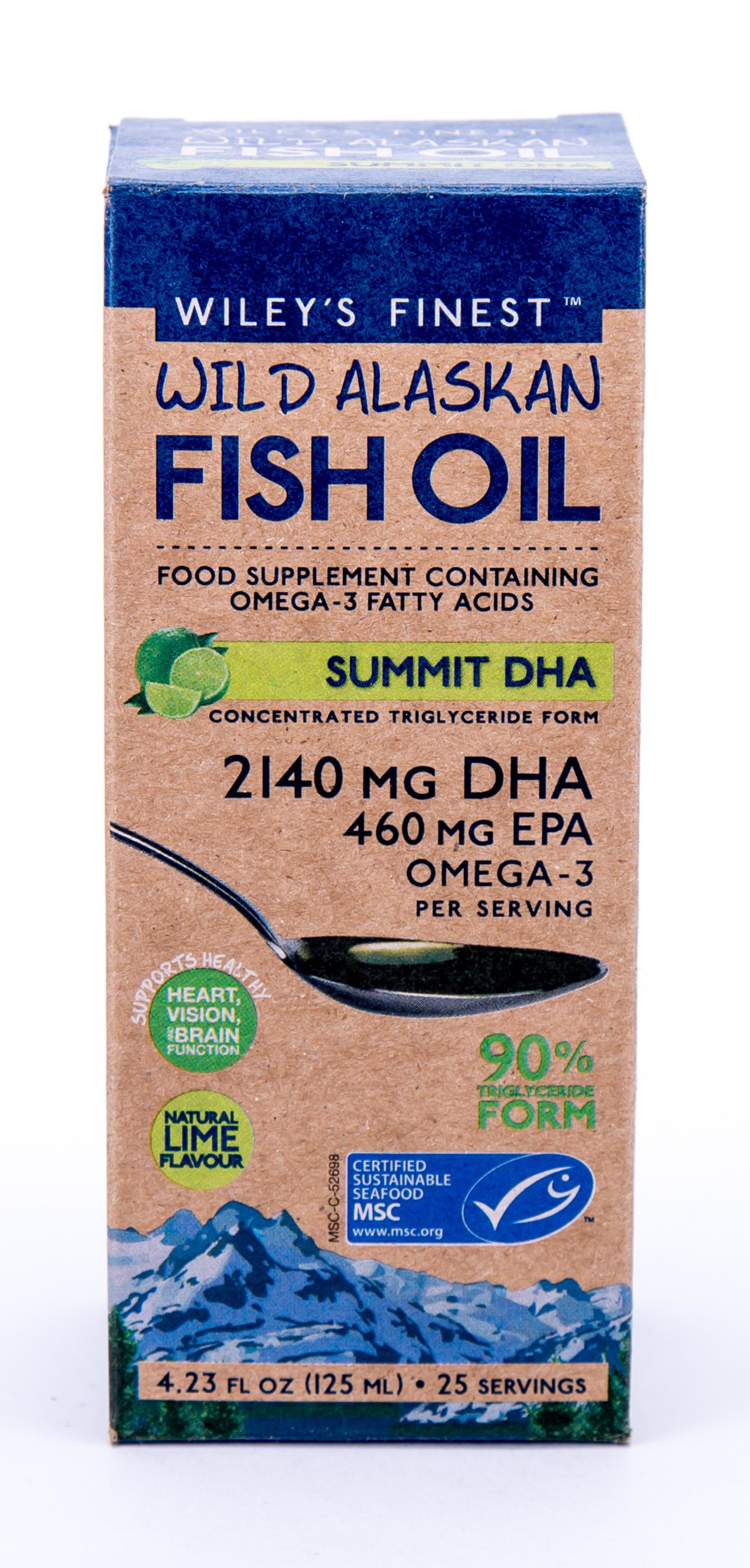 Wild Alaskan Fish Oil Summit DHA 125ml