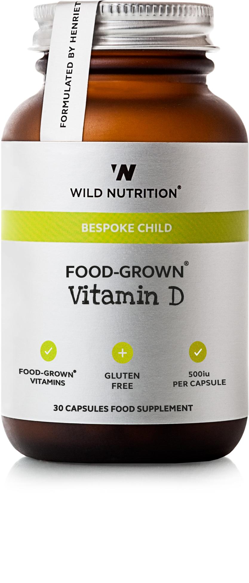 Bespoke Child Food-Grown Vitamin D 30's
